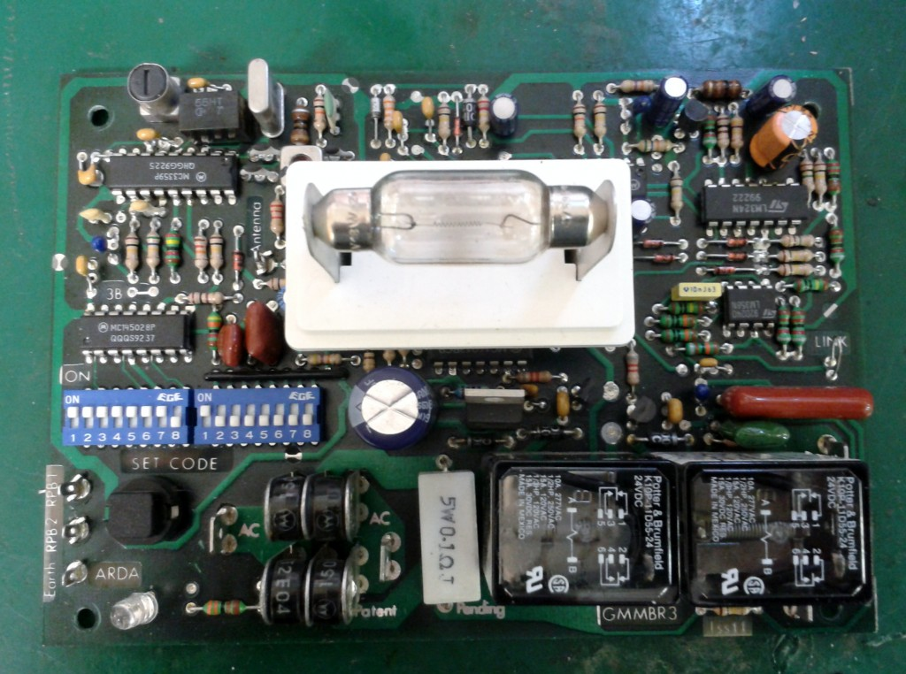 Glidermatic roller door controller circuit board