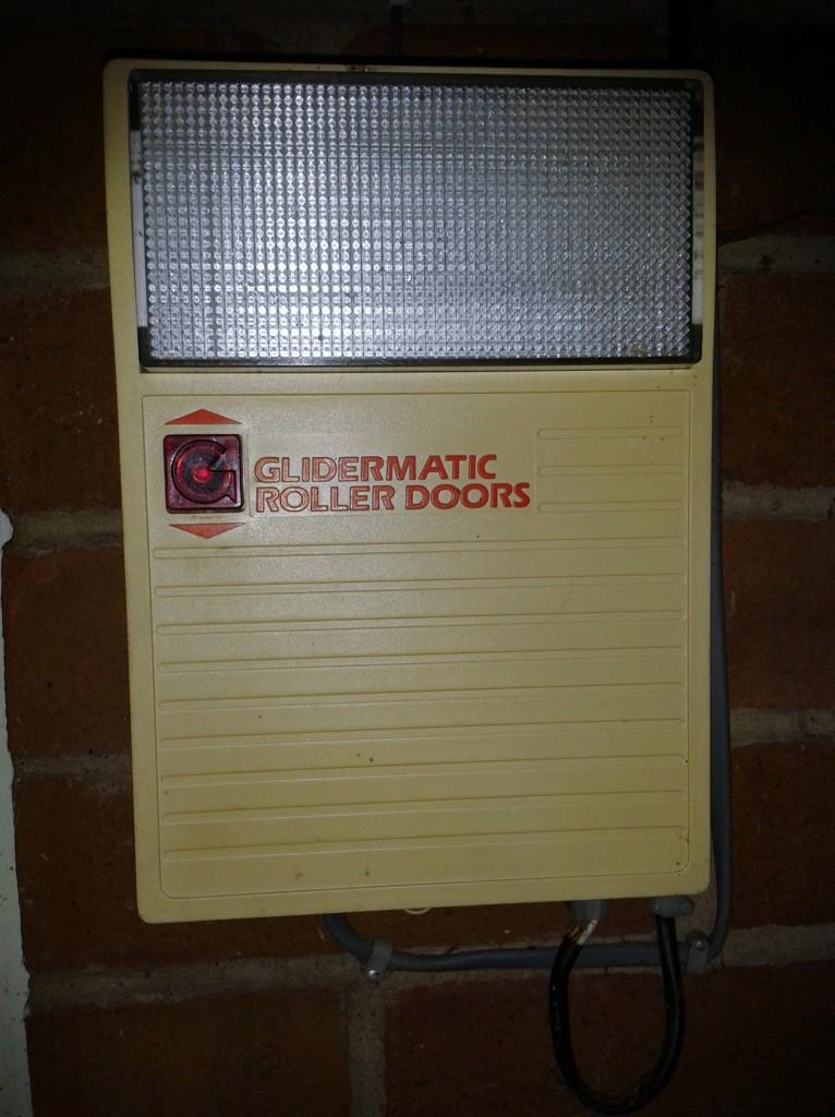 Glidermatic roller door controller
