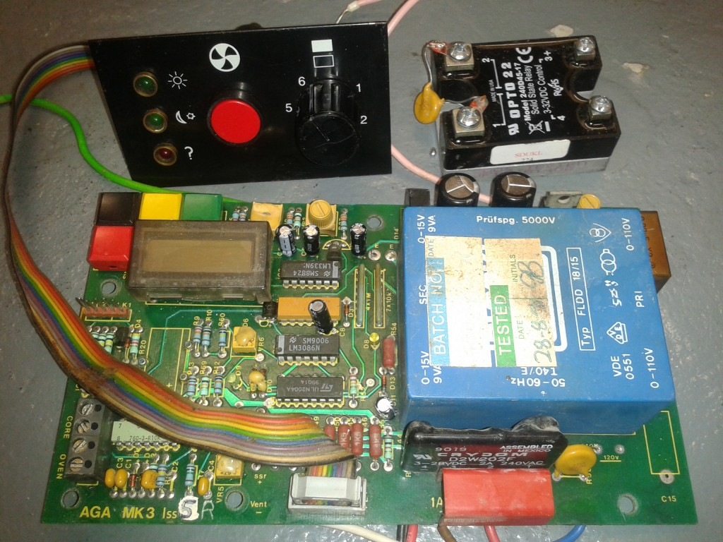 Aga Mk3 30Amp Controller Fixed Price Refurbishment and Repair